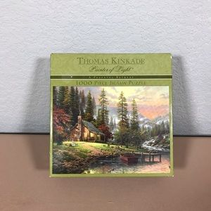 Thomas Kinkade A Peaceful Retreat Puzzle